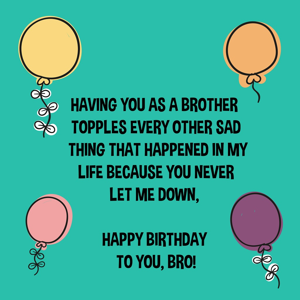 Happy Birthday Brother Wishes from the Heart-04