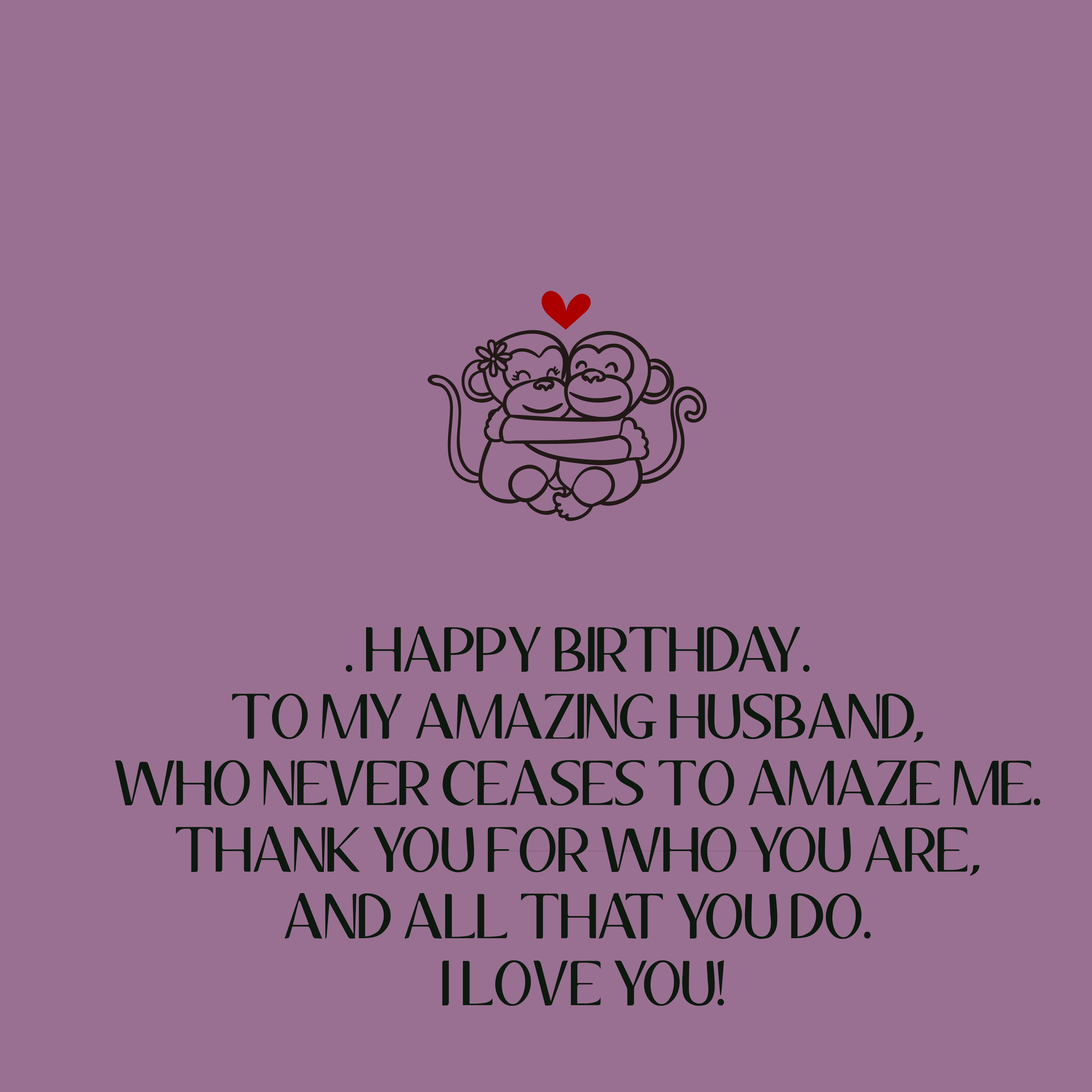 Happy Birthday Husband Wishes Messages Quotes And Cards: 200+ Happy Birthday Husband Wishes