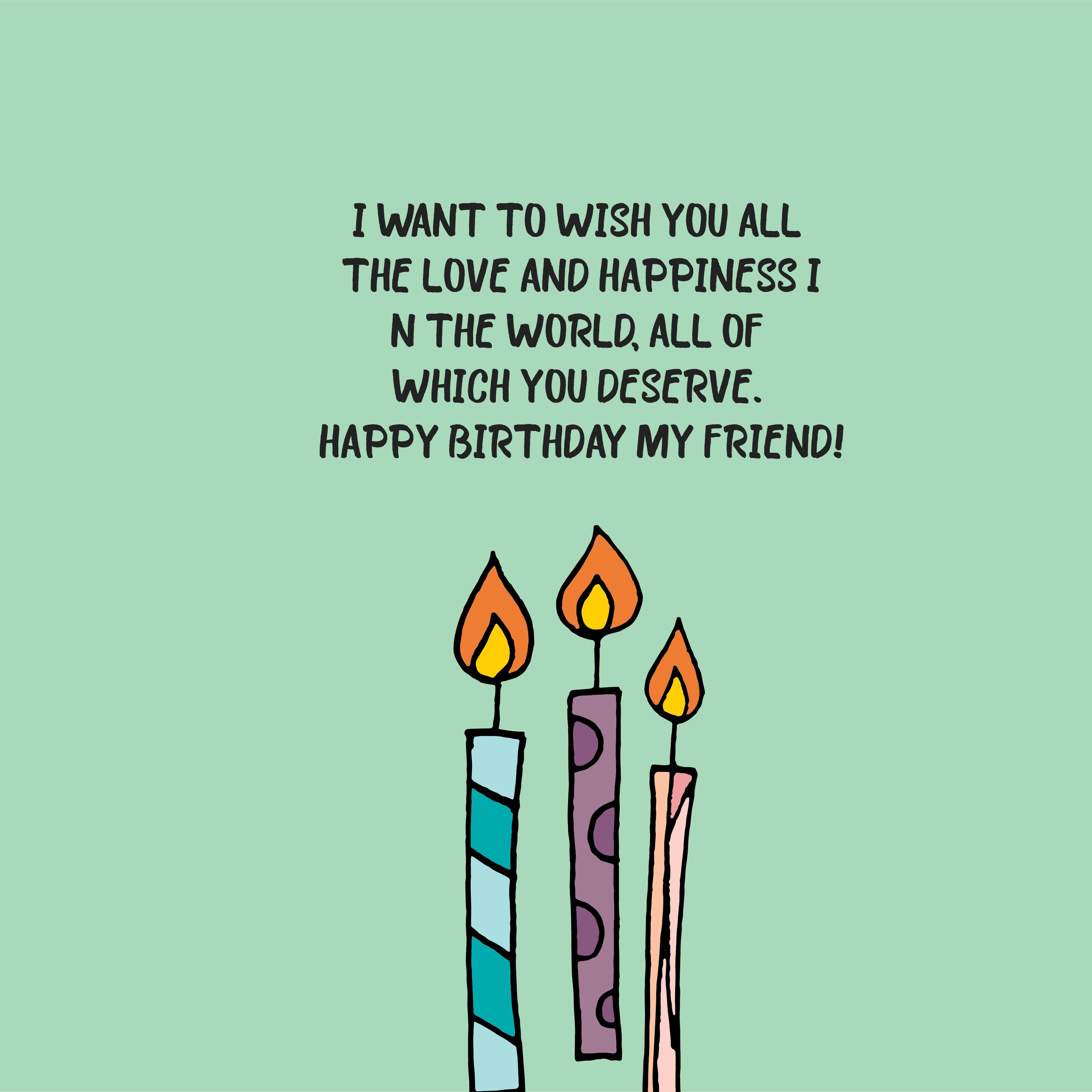 Happy Birthday Quotes And Wishes For Friends