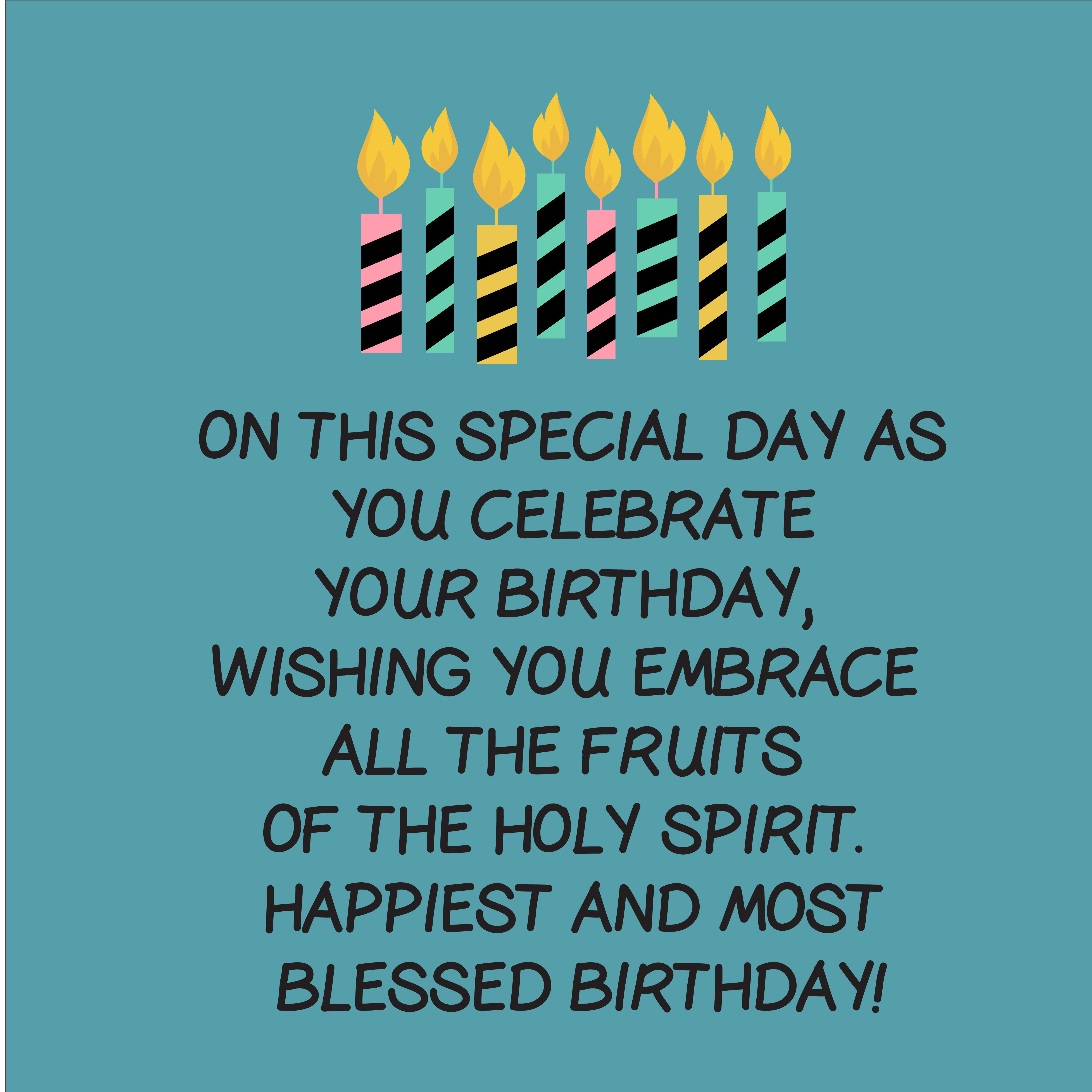 240+ Christian Birthday Wishes and Quotes - Top Happy ...