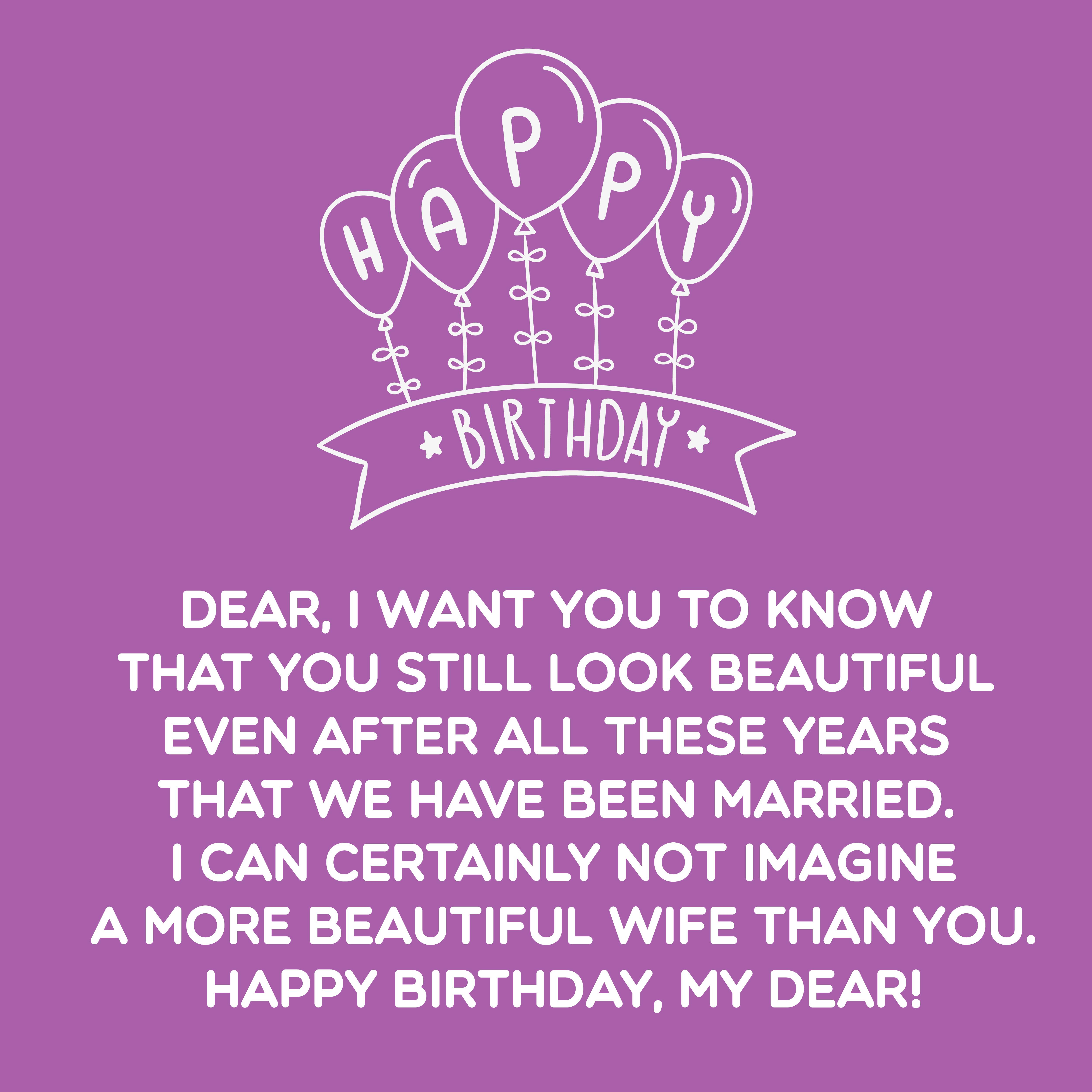 Top 200+ Happy Birthday Wife Quotes And Wishes