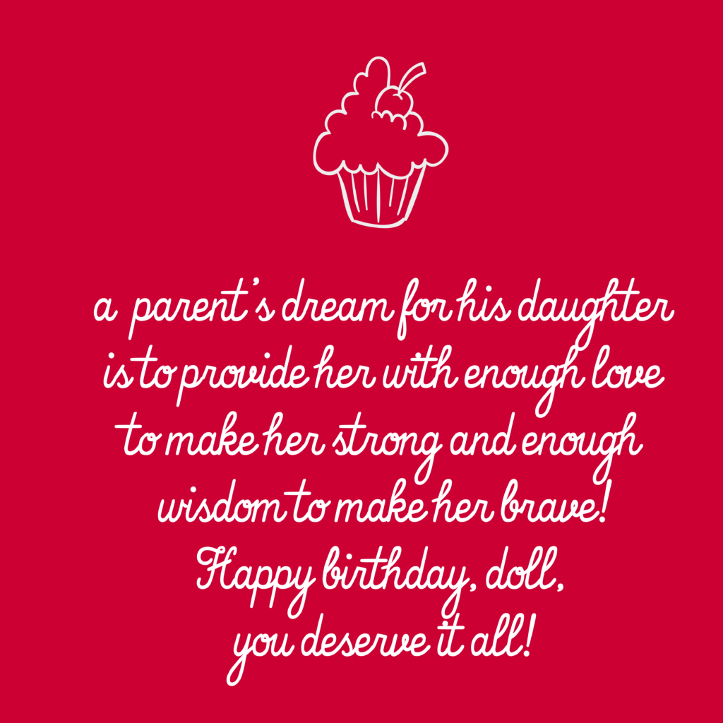 Happy Birthday Wishes For Daughter 27