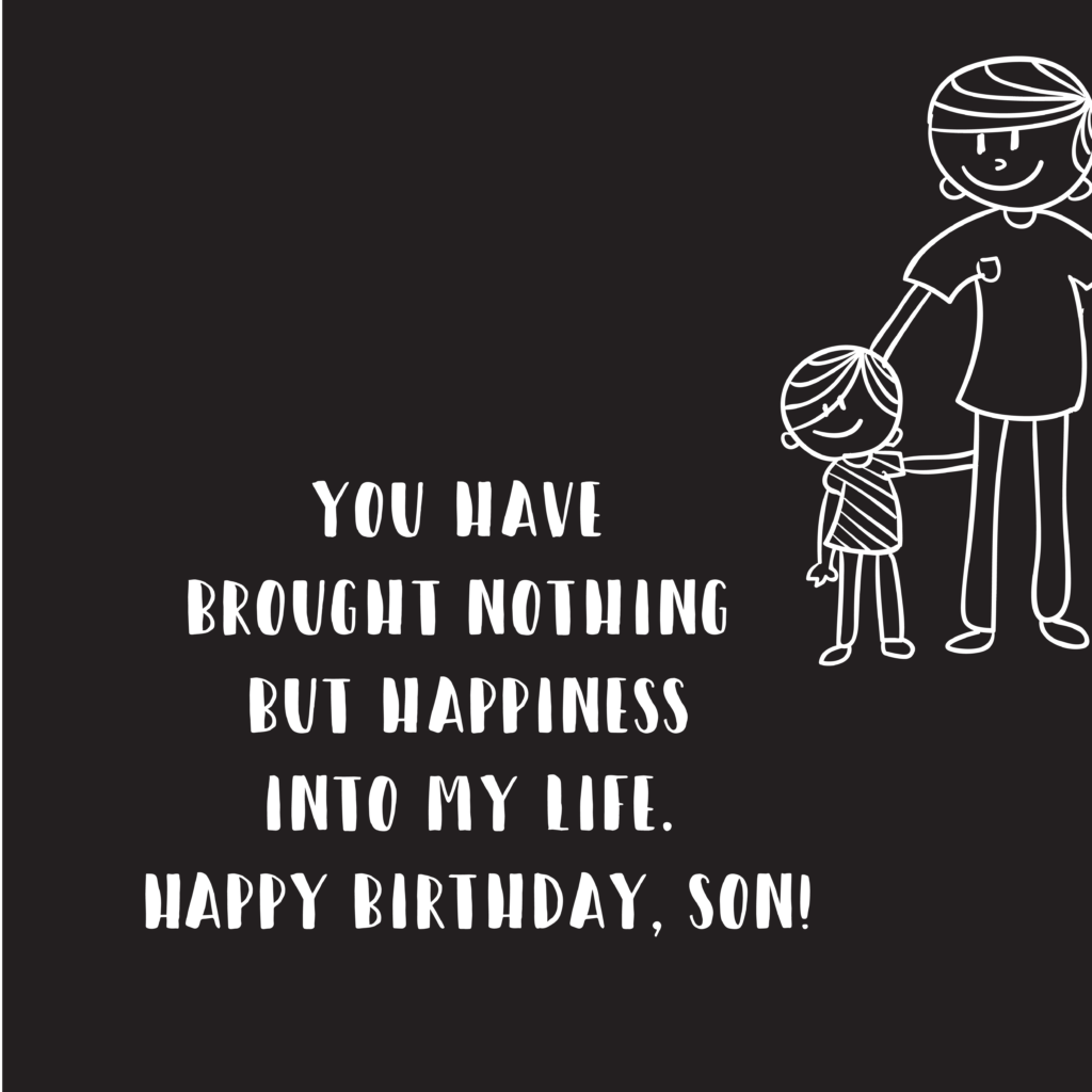happy birthday wishes for son 4