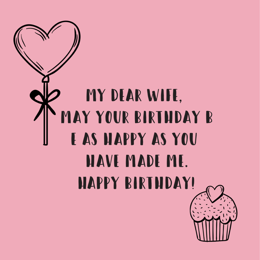 happy birthday wishes for wife 7