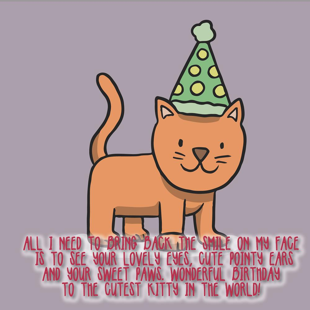 Happy Birthday Cat Wishes For Cats 03